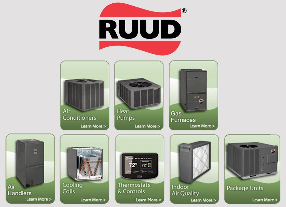 Ruud HVAC Services New Orleans AC Repair