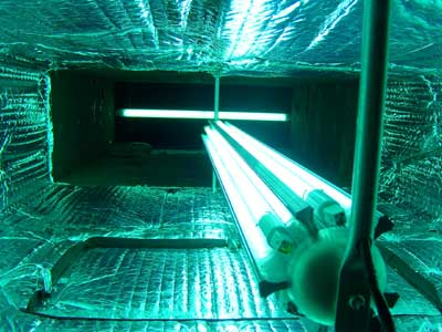 Germicidal ultraviolet (UV) lights Harvey LA - TaylorTylerHVAC.com